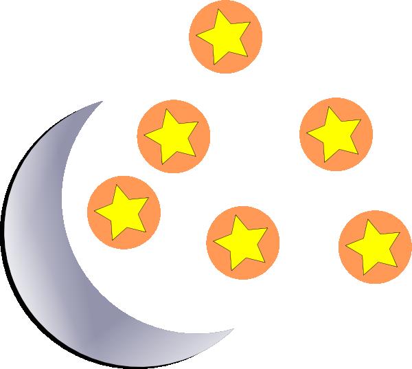 And start clip art. Clipart moon cartoon