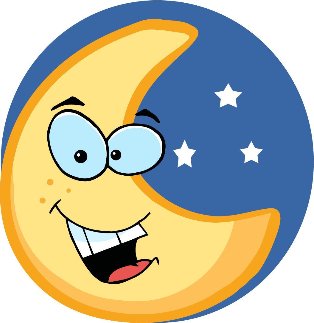 Free cliparts download clip. Clipart moon cartoon