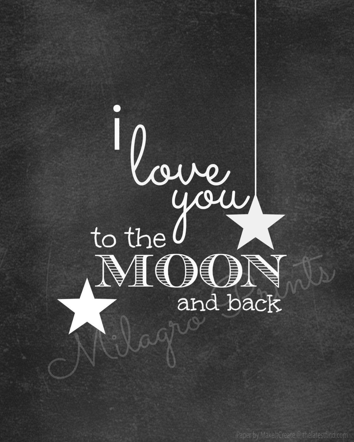 Clipart moon chalkboard. To the and back