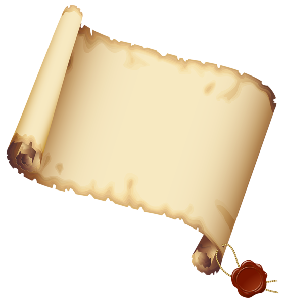 Ancient scrolled paper png. Clipart moon cheese