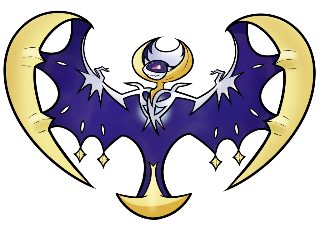 Legendary by duckydeathly fur. Clipart moon crest