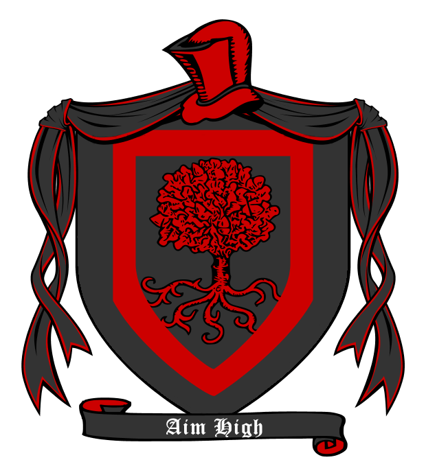 Clipart moon crest. House of dayne guard