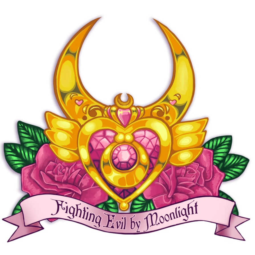 Clipart moon crest. Sailor tattoo design by