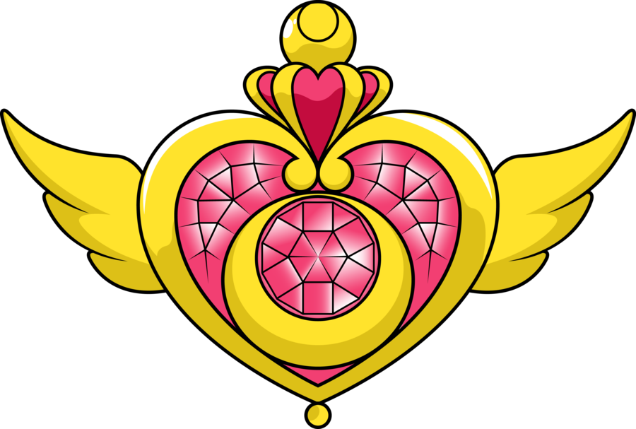 Sailormoonbrooch explore on deviantart. Clipart moon crest