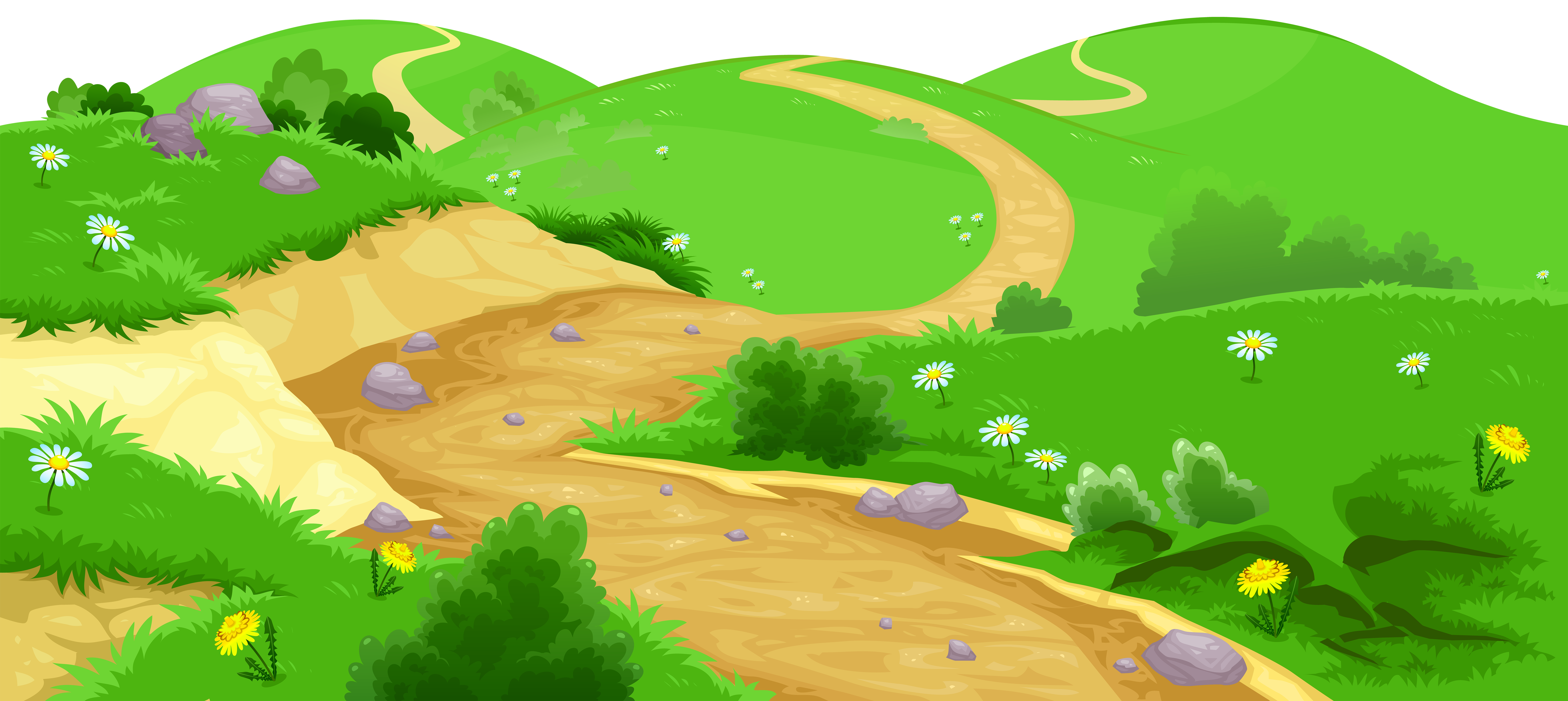 Valley ground transparent png. Lake clipart animated