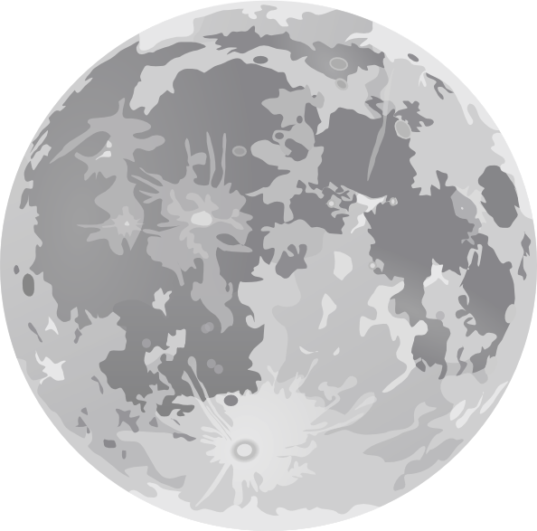 Planet clipart full moon. Illustration of clipartmonk free