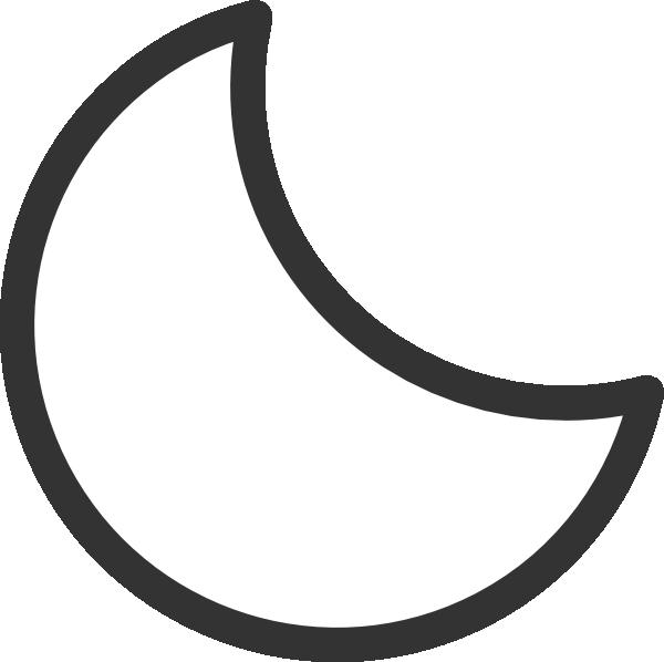 Clipart moon jpeg. Black and white stars