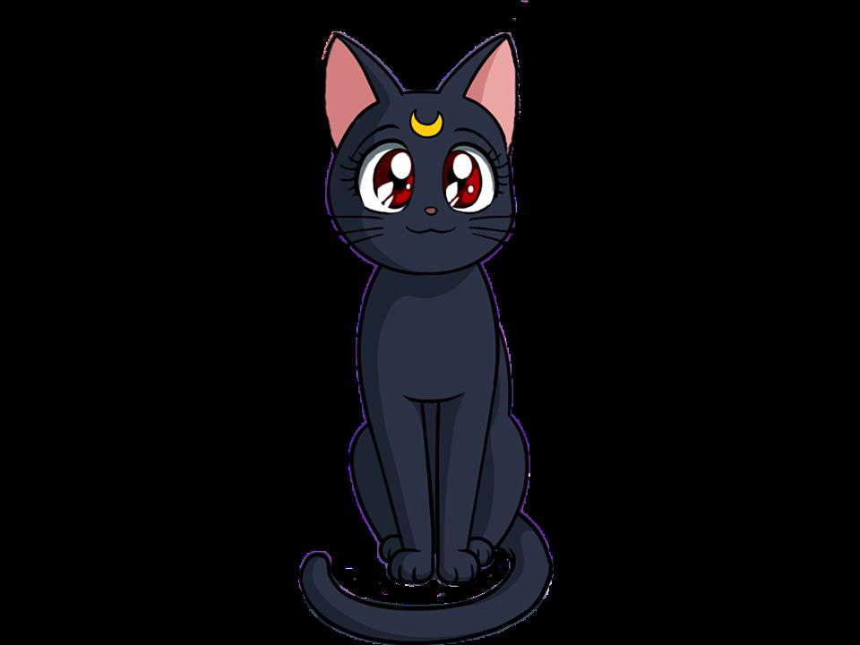 Emotions clipart cat. Sailor moon cute chibiusa