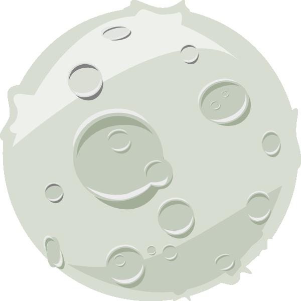 Lua clip art at. Clipart moon luna