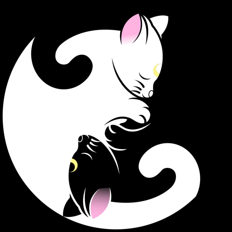 And artemis yin yang. Clipart moon luna