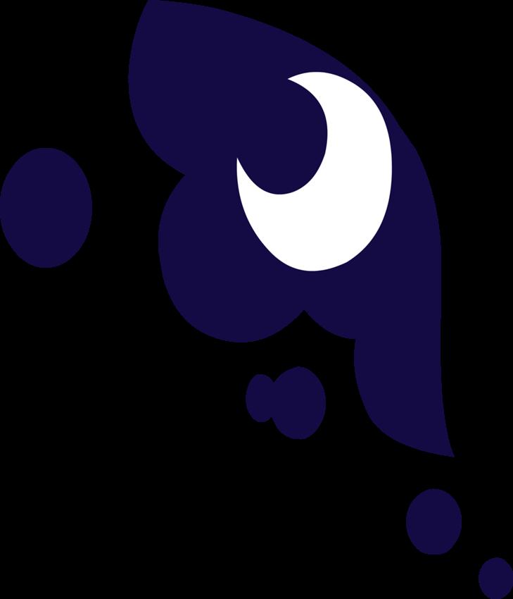 Clipart moon luna. Image cutie mark png