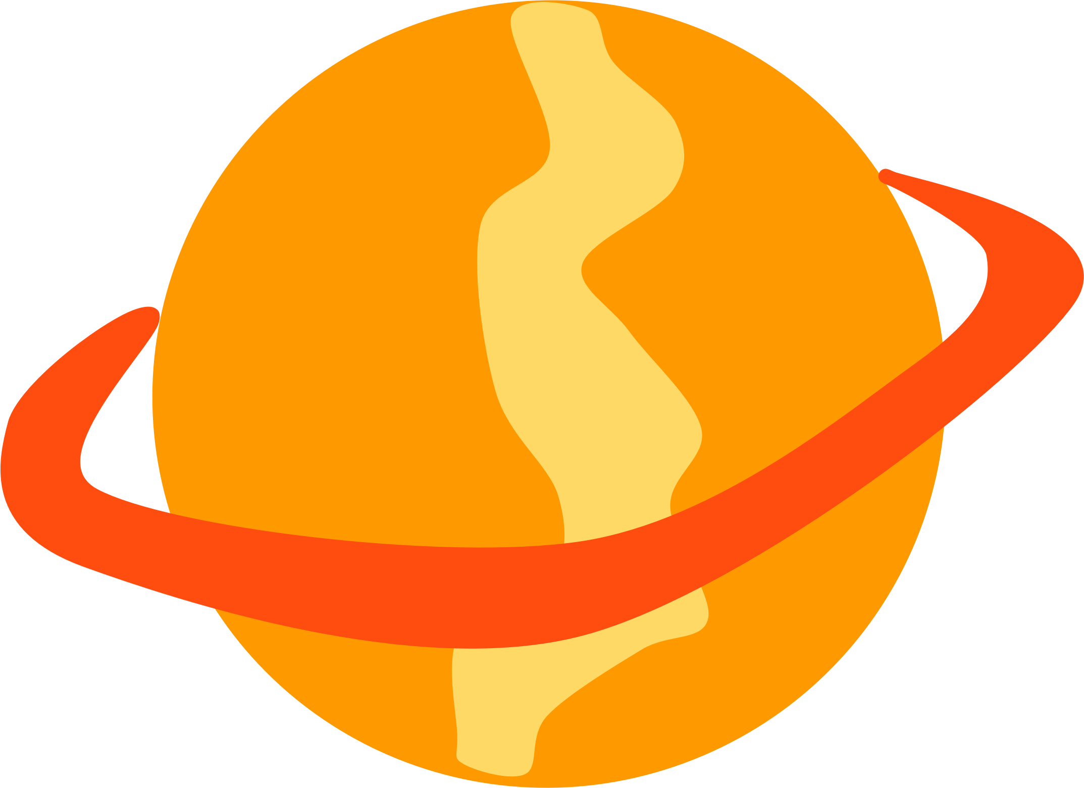 Planet clipart space stuff. Orange icons png free
