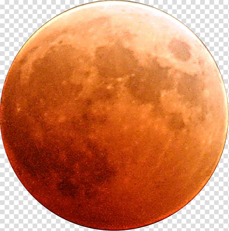 Orange planet blood transparent. Planets clipart red moon