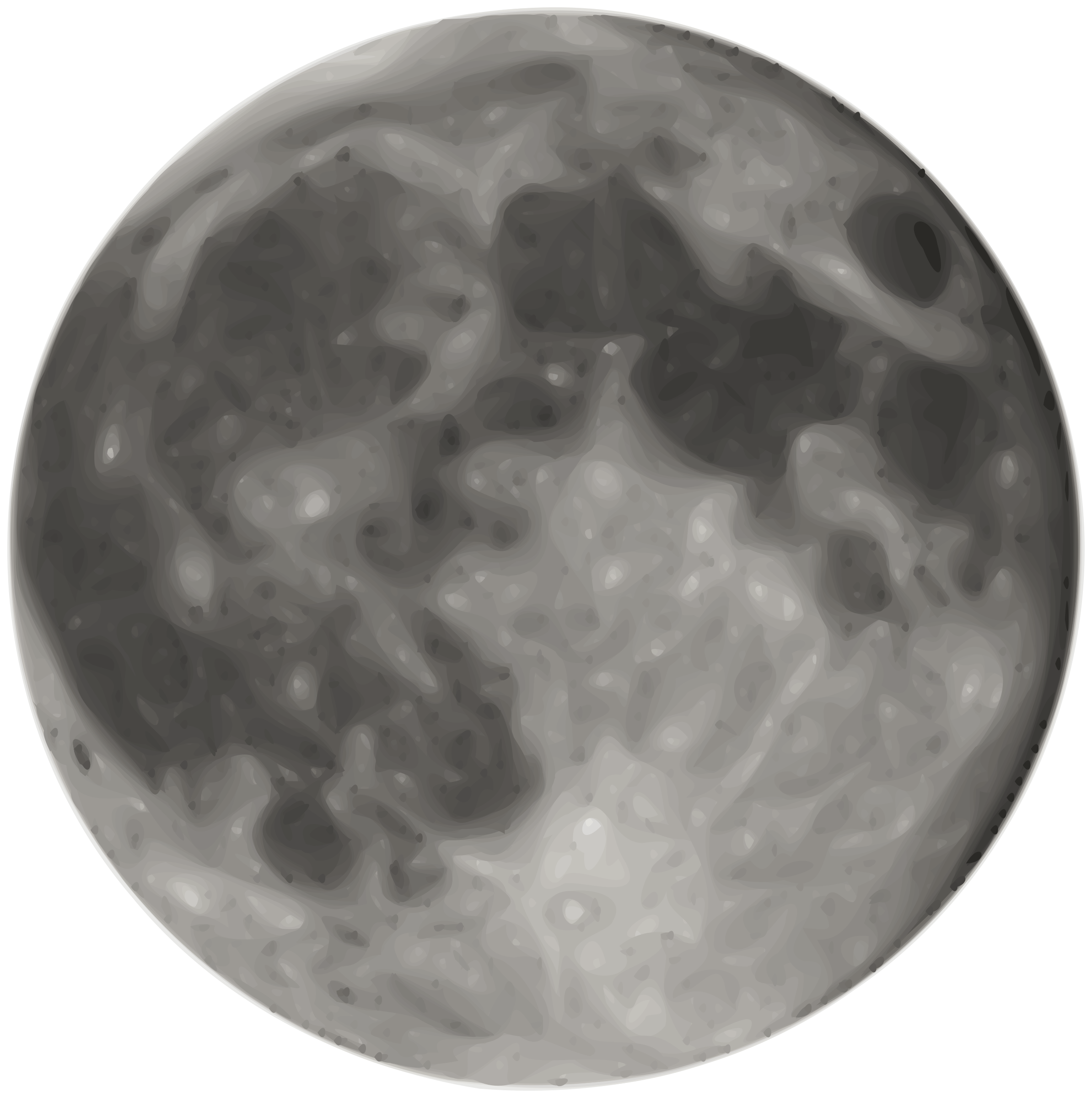 Full moon big image. Planets clipart line