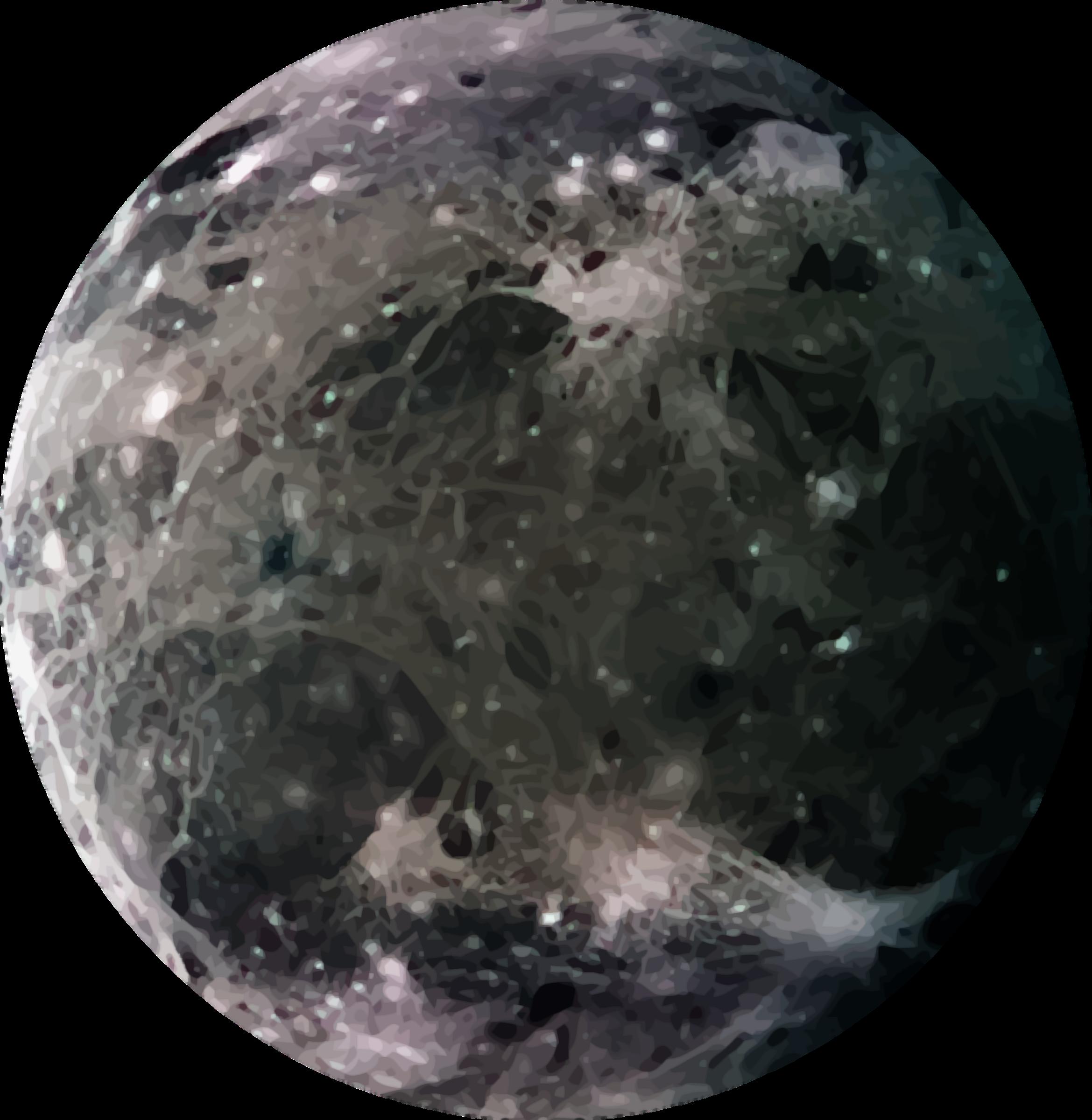 Jupiter s ganymede big. Clipart moon pdf