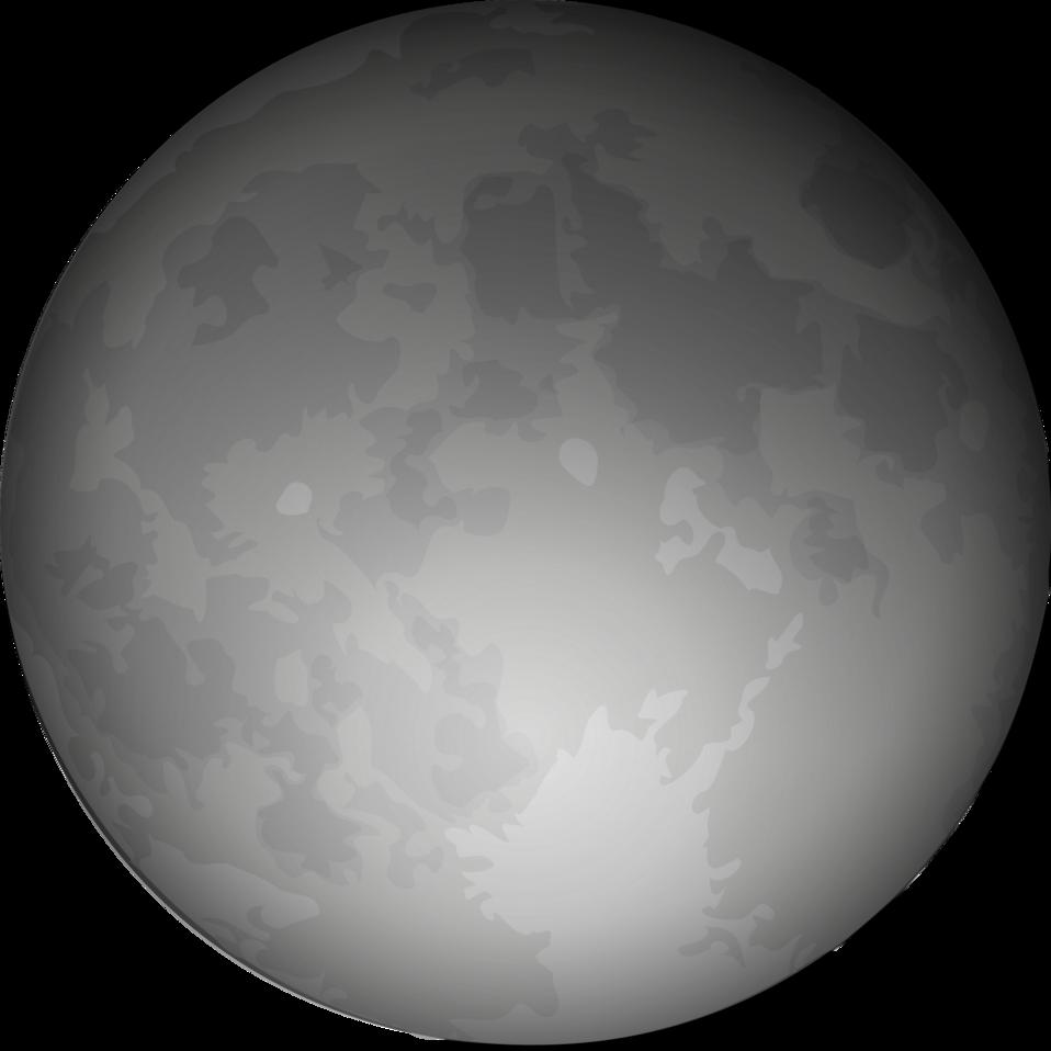 Night clipart lunar. Public domain clip art