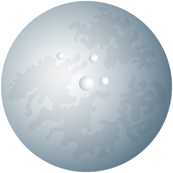 Clipart moon pretty. Large transparent png clip