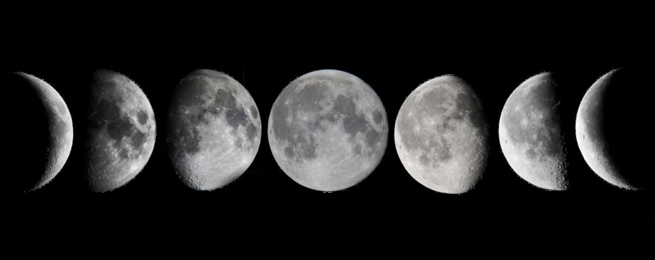 Moon realistic