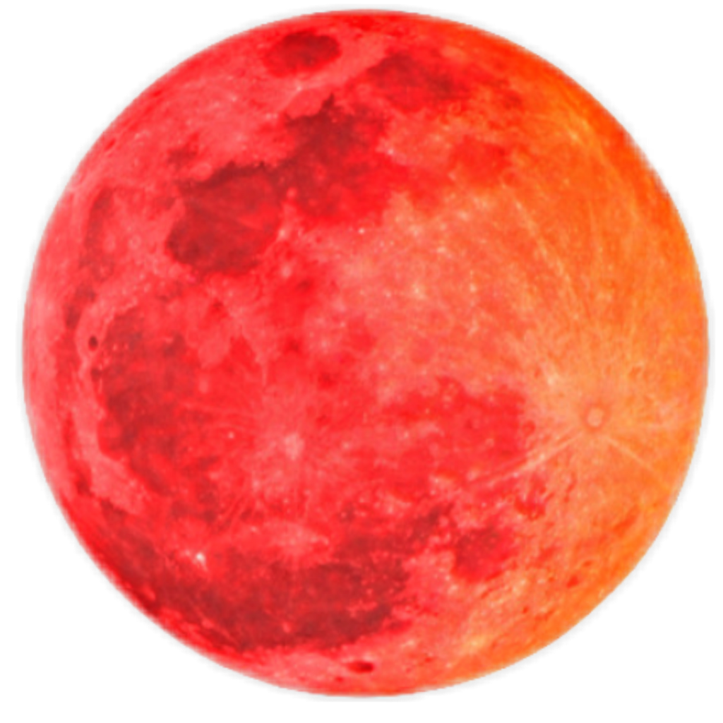 Sun planet space sticker. Planets clipart red moon