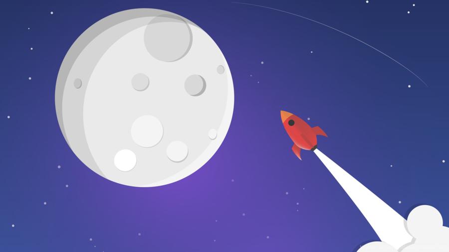 Clipart rocket moon rocket. Cartoon spacecraft transparent