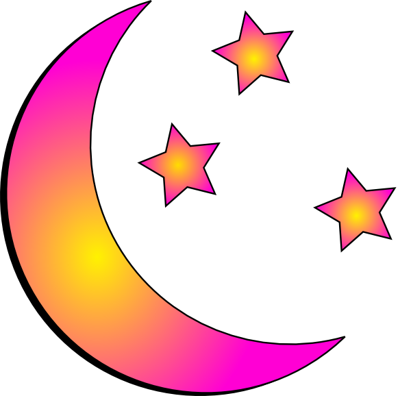 Clipart moon route. Clip art at clker
