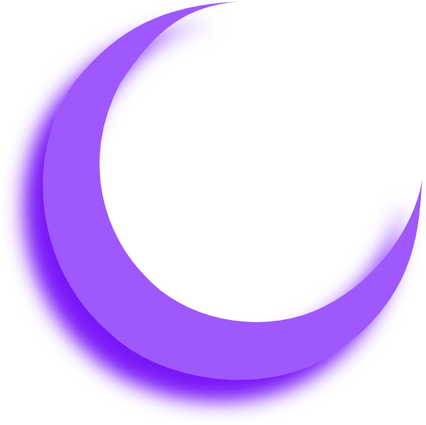 Clipart moon route. Purple clip art at