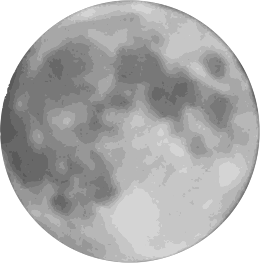 Planet clipart full moon.  collection of creepy