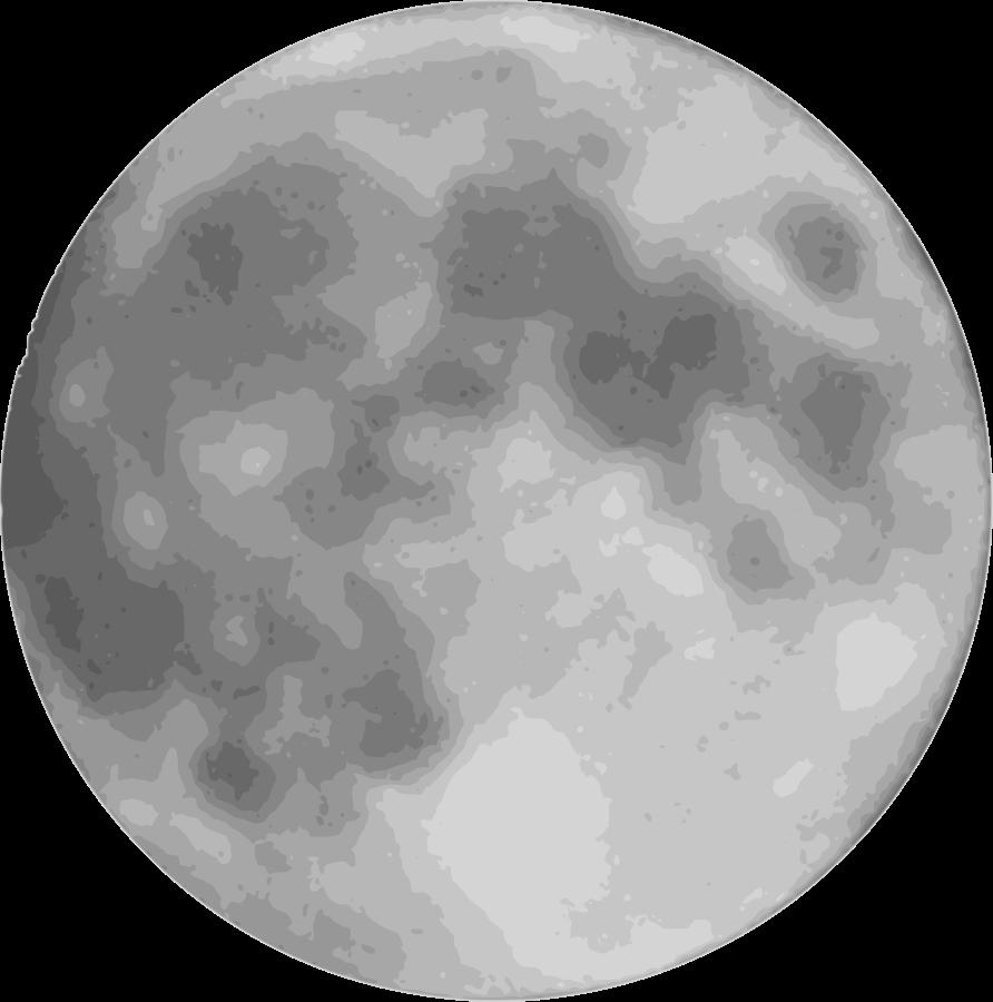 spooky clipart moon #143976804