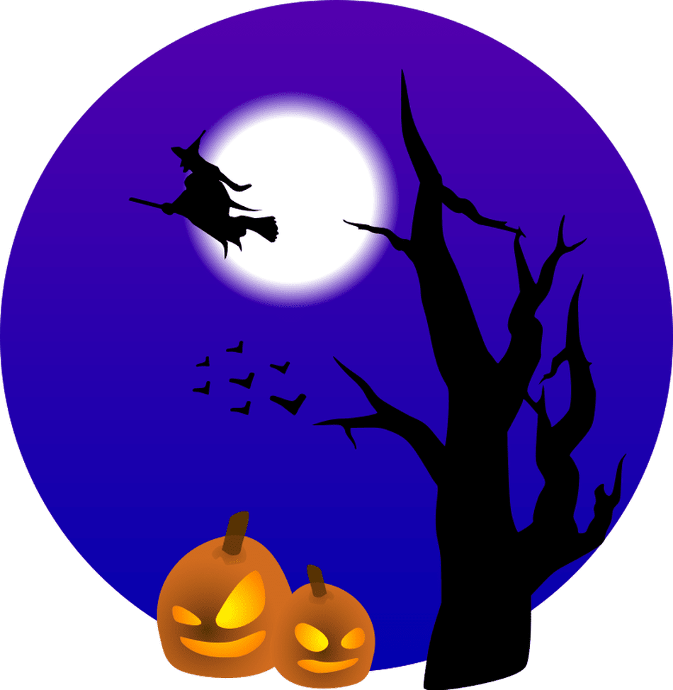 Clipart moon scary.  free halloween clip