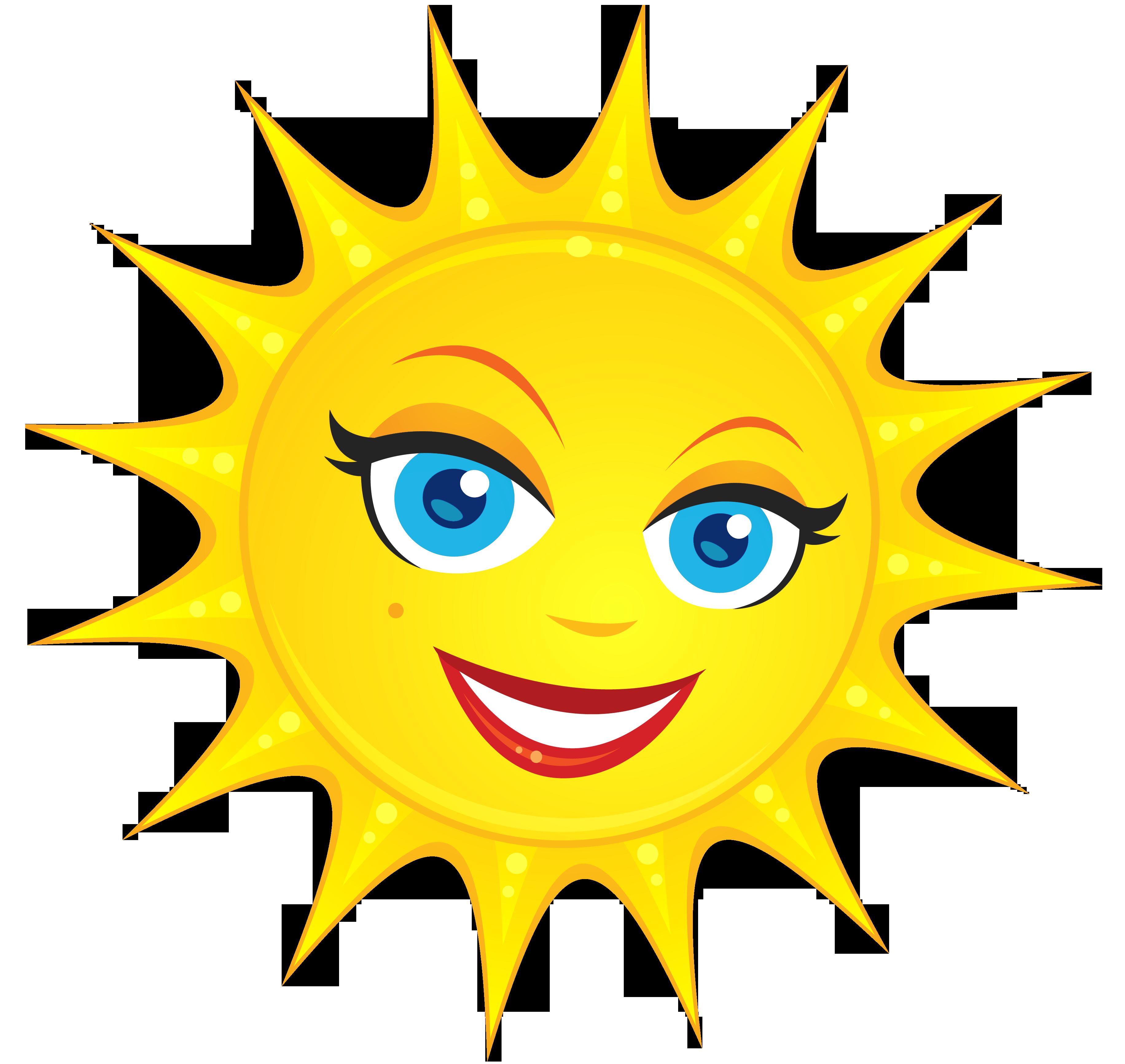 E clipart cute. Transparent sun png picture