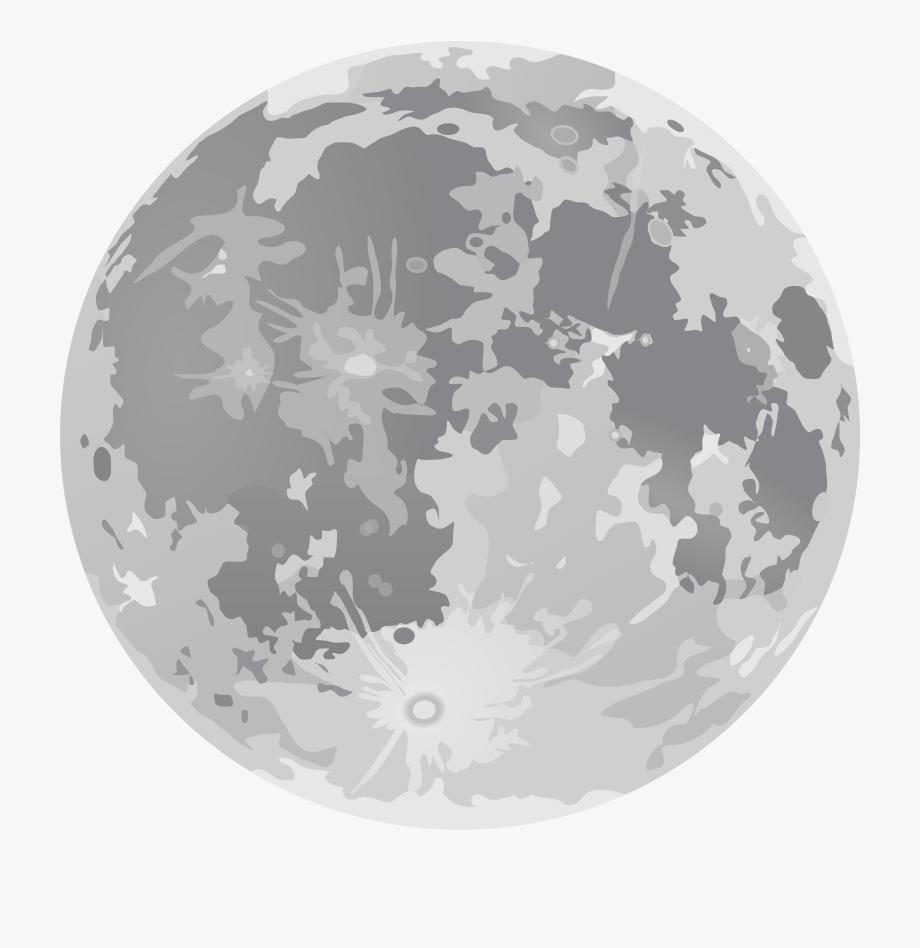 Clipart moon transparent background. Cartoon