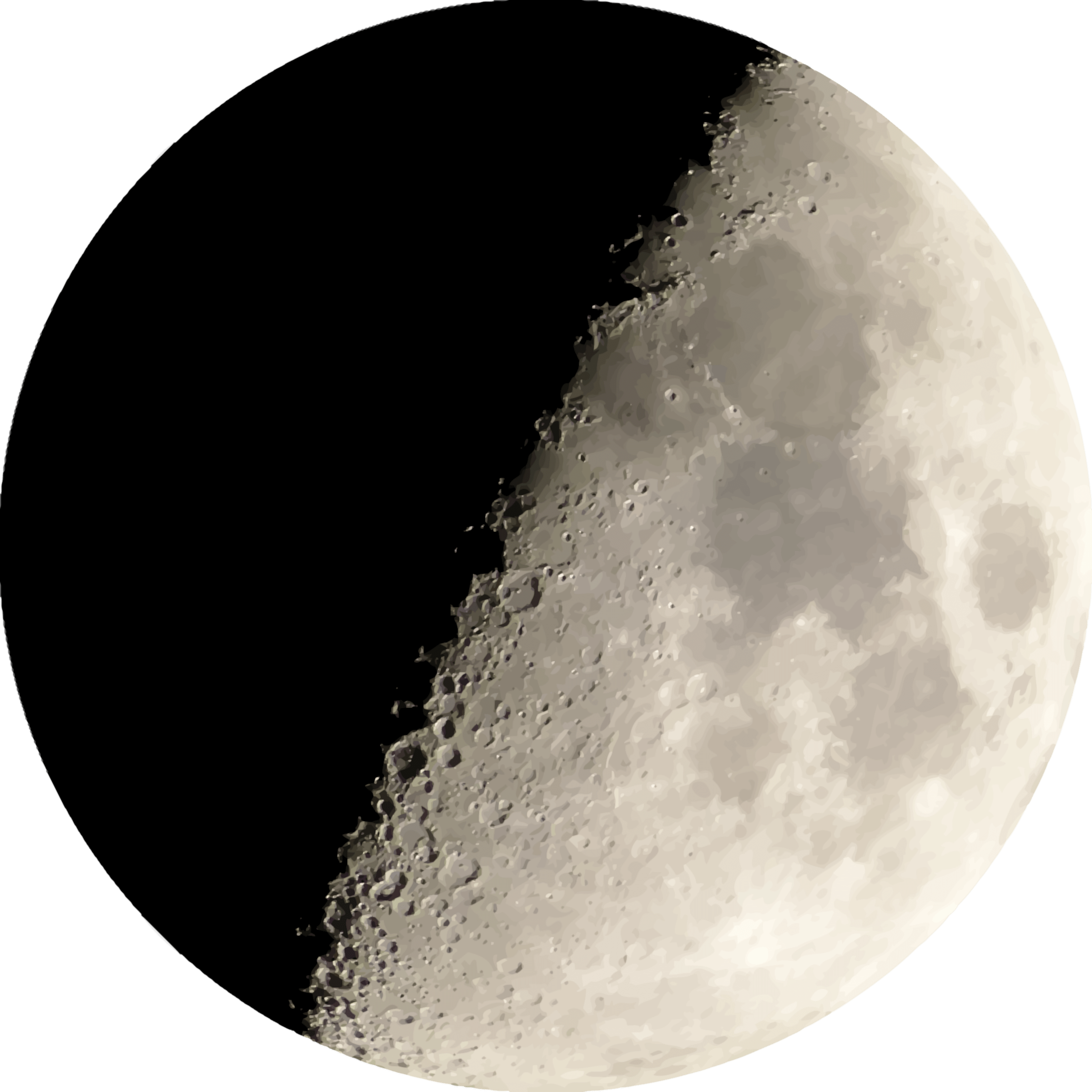 Half transparent stickpng. Moon png images