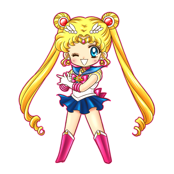 Sailor clipart salior. Moon render by bloomsama