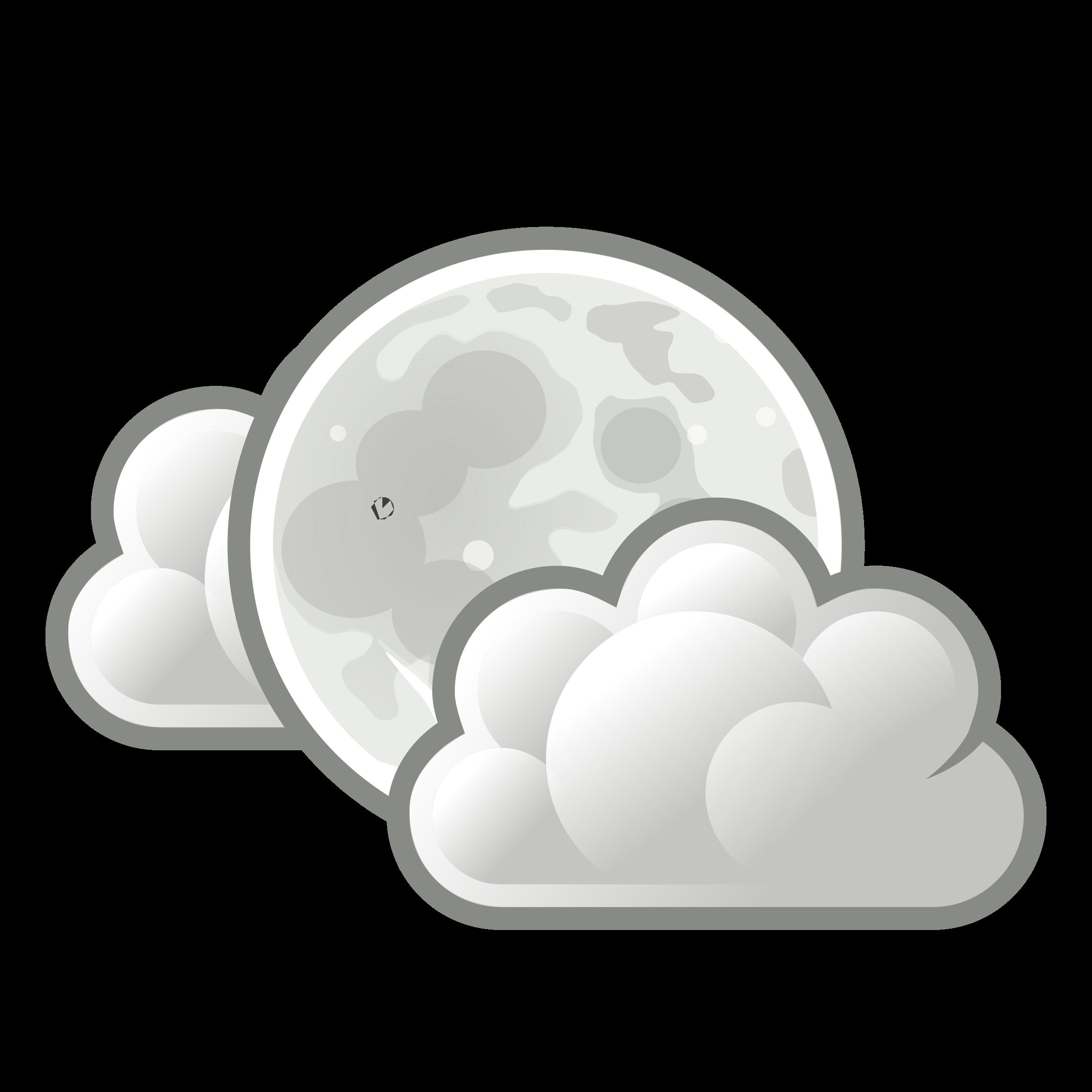 Clouds clipart weather. Tango few night big