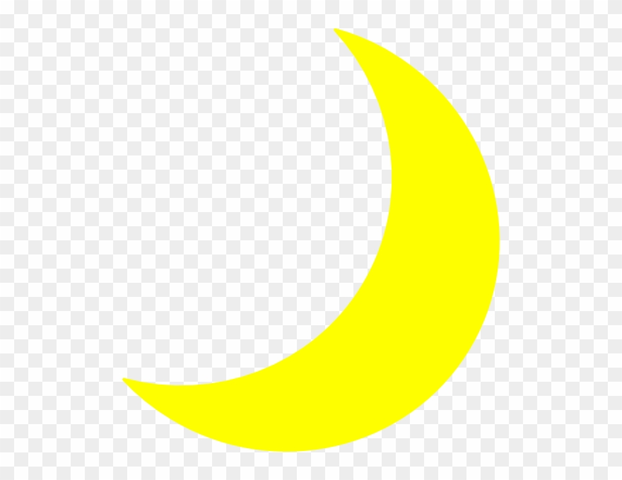 Clipart moon yellow. Sleeping free images clipartcow