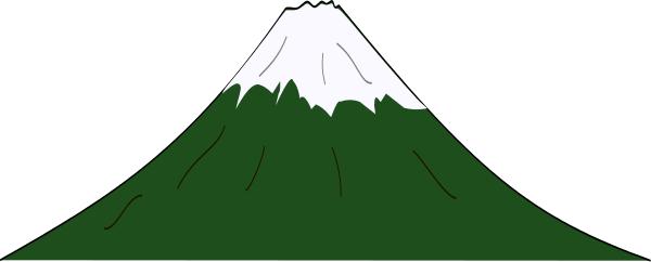 Clipart mountain. Allinallwalls clip art black