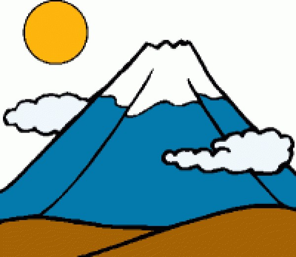 Clipart mountains high mountain. Free animated cliparts download