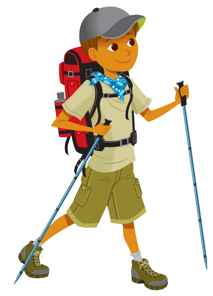 Index of wp content. Hike clipart mountain climber