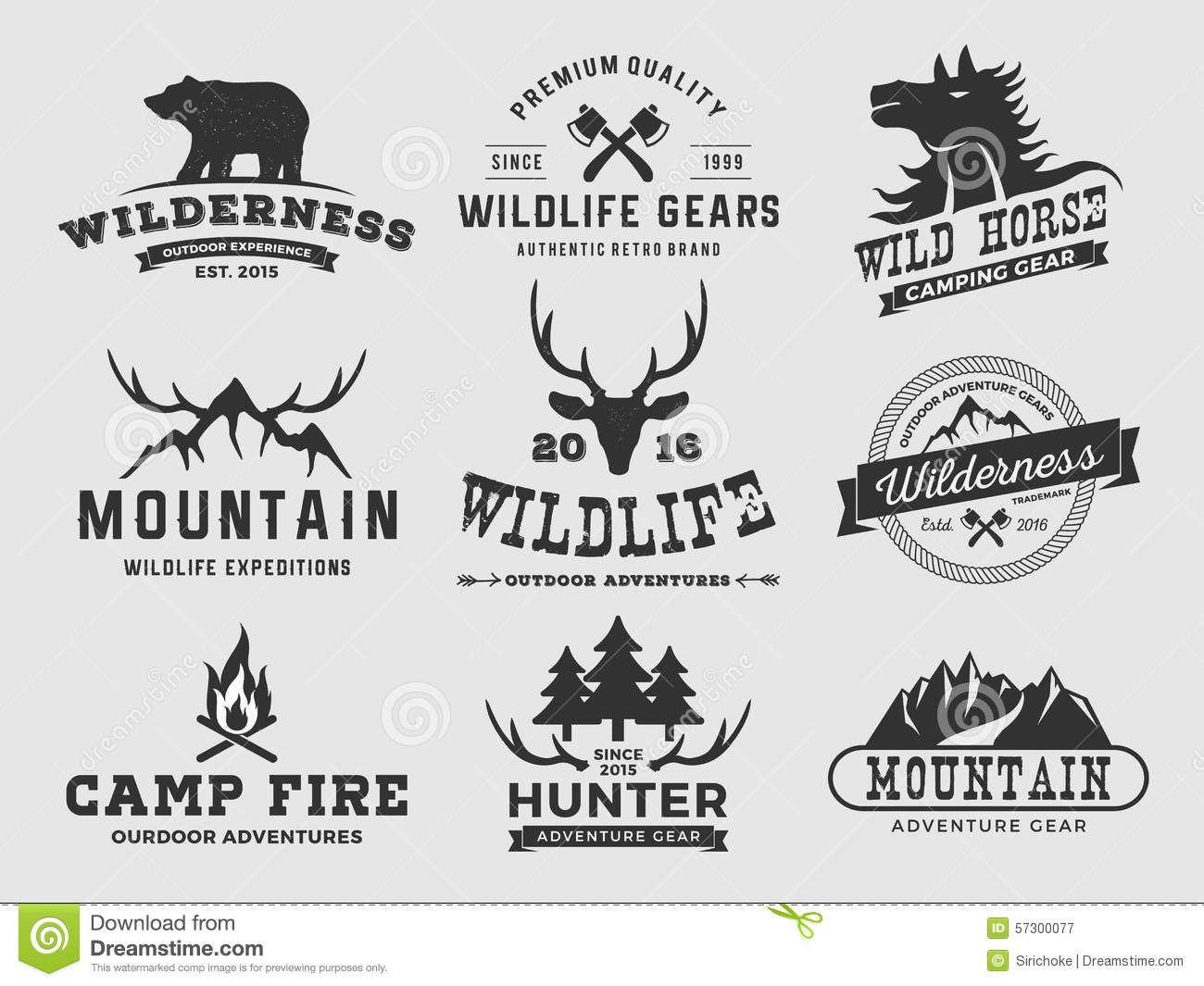 Adventure outdoor logo royalty. Clipart mountain badge