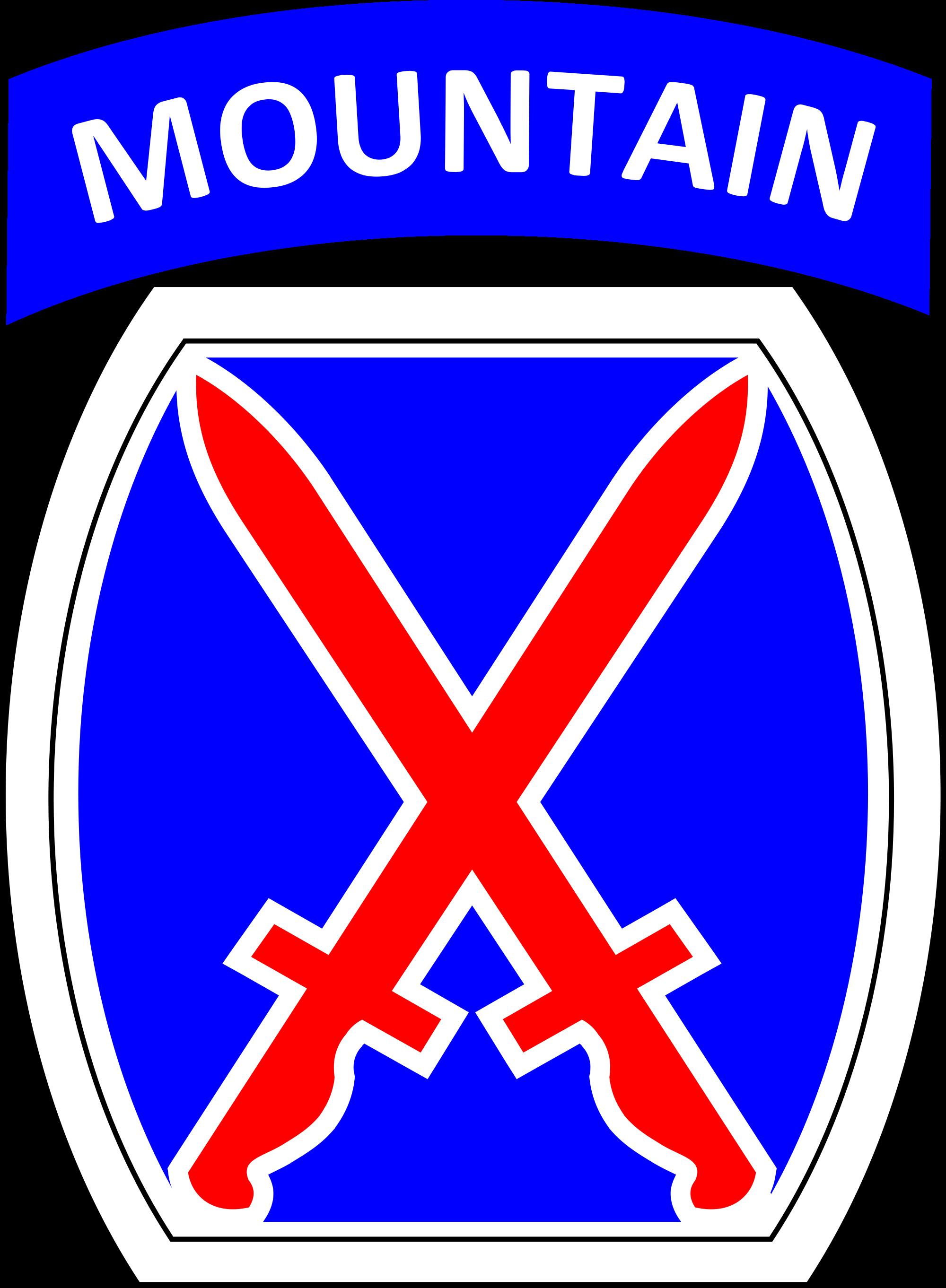 Clipart mountain badge.  nd brigade combat