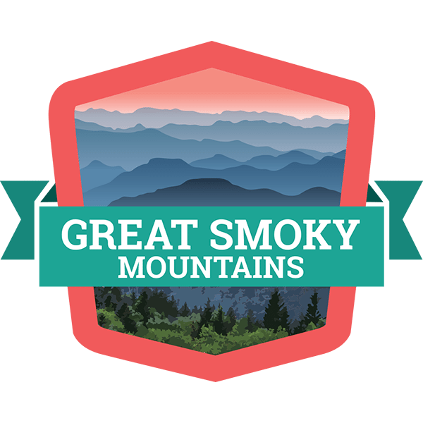 Great smoky mountains national. Clipart mountain badge