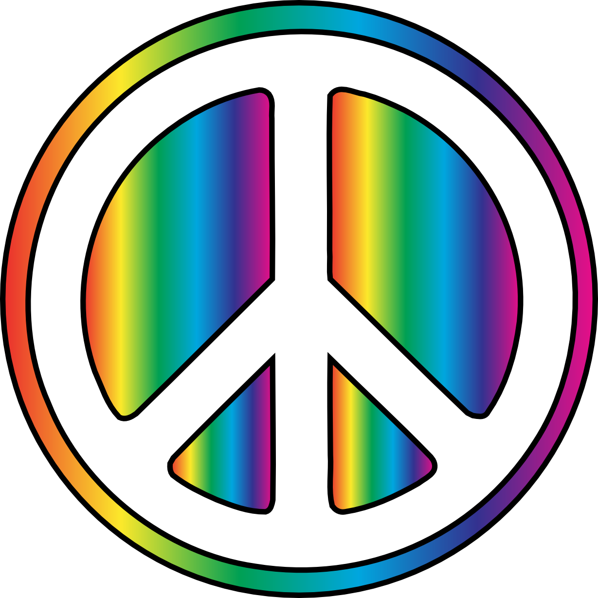 Free peace sign mountain. Hippie clipart transparent