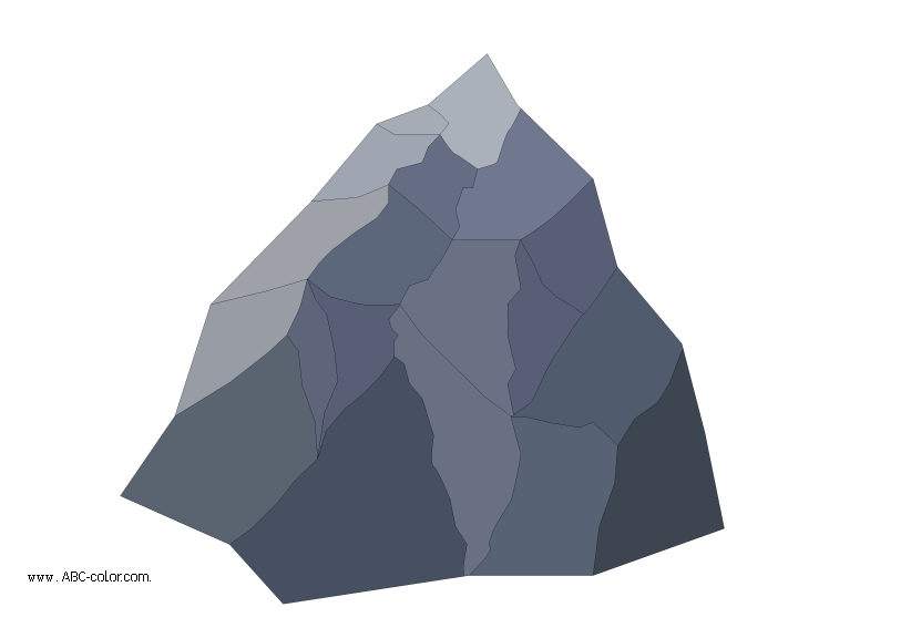 Raster scaur faceted circuit. Clipart mountain bitmap