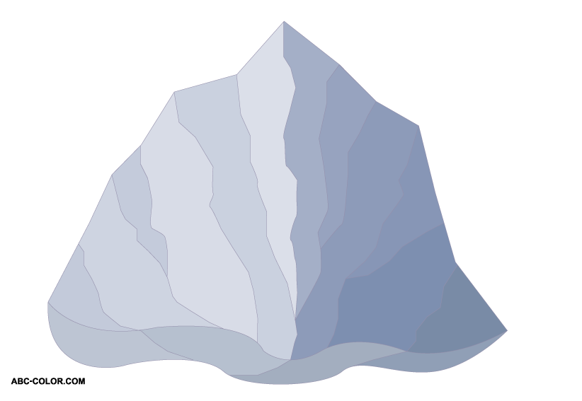 Clipart mountain bitmap. Picture iceberg berg download