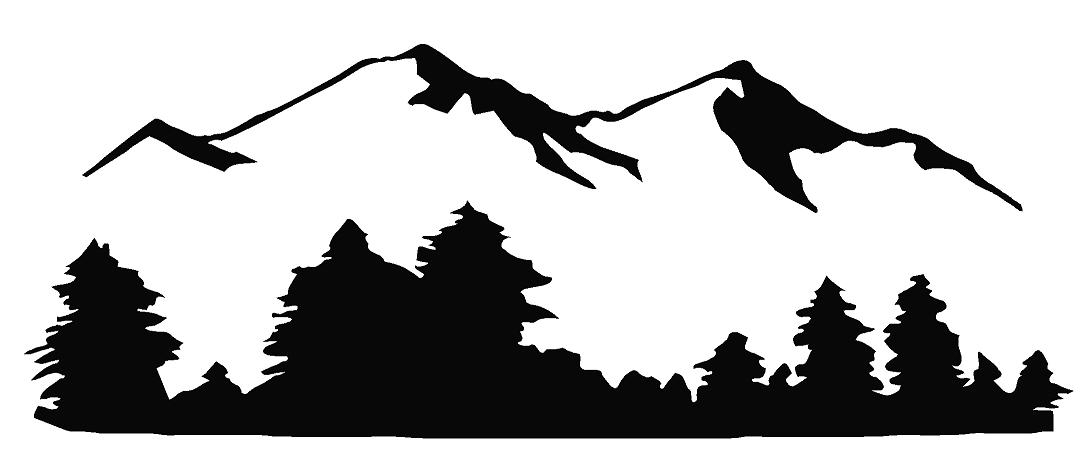 Mountain free download best. Clipart mountains black and white