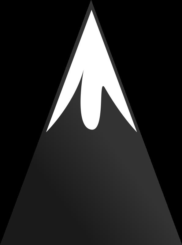 Clipart mountain cartoon.  collection of peak