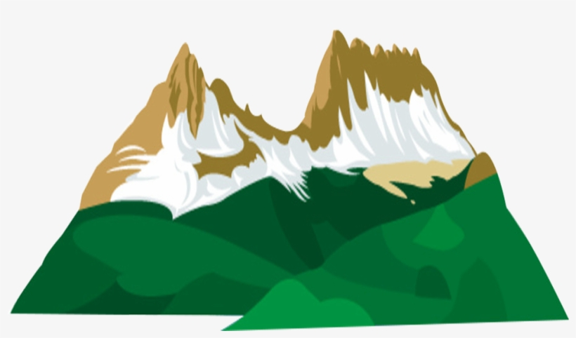 Clipart mountain cartoon. Download free png green