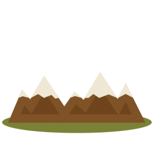 Mountains clipart cute. Pin on svg files