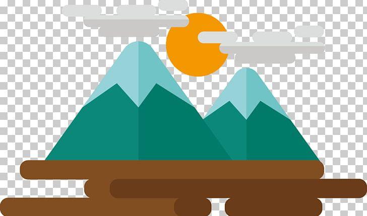 Mountains clipart cute. Cartoon mountain icon png