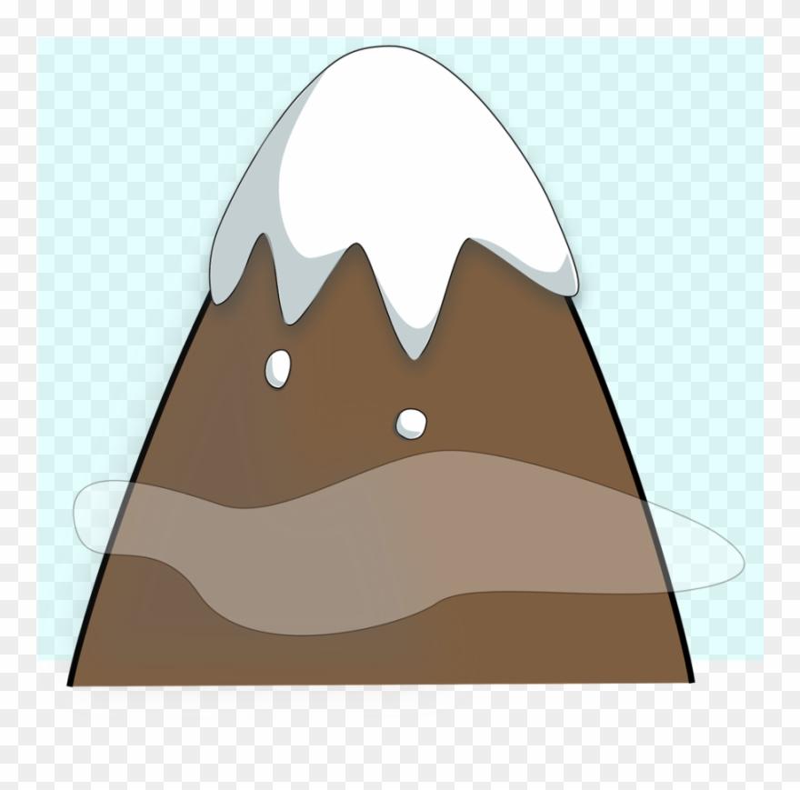 One mountain clip art. Mountains clipart cute
